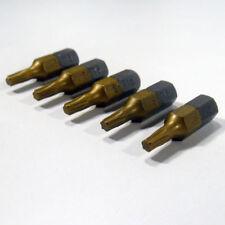 TORX t15 bits 5 ela bits Tin 1/4 pulgadas longitud 25 mm schrauberbit tx15
