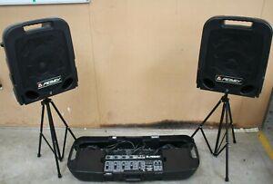Peavey Escort 2000 Portable PA System - 150 watt x2 Speakers (Hospiscare)