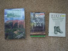 3 Colorado hiking paperback books: Colorado on Foot, Off the Beaten Path, Hiking