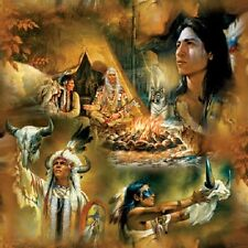Jigsaw Puzzle Ethnic Native American Dreams 1000 pieces NEW Made in the USA