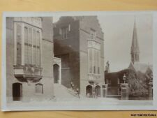 London HARROW The Old School Chapel Harrow - English Public School c1912 RP
