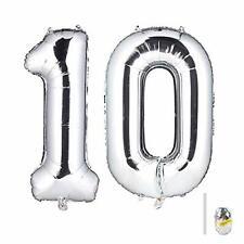 Huture 40 Inches Jumbo Digital Number Balloon Huge Giant Balloon Foil Mylar Bal