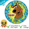SCOOBY DOO PERSONALISED EDIBLE ROUND PRINTED BIRTHDAY CAKE TOPPER DECORATION