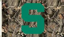 Michigan State Spartans 3' X 5' premium Camo flag by Bsi Products New
