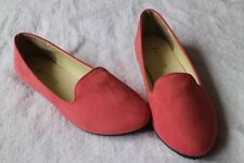 New Fashion Womens Ballet Flats Casual Boat Shoes Slip On Loafers Suede Shoes UK
