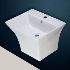 Solid Bowl/Basin Square Home Bathroom Sinks