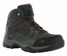 Hi-Tec Waterproof Bandera II Wide Leather Lace Walking Hiking Trail Mens Boots