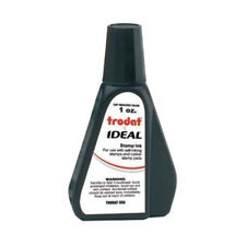 1 oz! Black Rubber Stamp Refill Ink (for self inking stamps & stamp pads)
