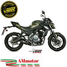 Scarico Completo Kawasaki Z650 2020 Terminale Per Moto Mivv Oval Carbonio Cap