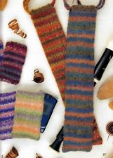 KNITTING PATTERN IPOD MOBILE PHONE & RECORDER BAGS FELTED/ NOT FELTED KTM A5A
