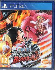 One Piece Burning Blood sur PS4  Neuf / Sous Blister / VF LIVRAISON EN URGENT