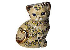 De Rosa Grey Cat Figurine