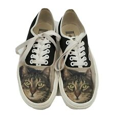 Vans Customs Cat Shoes Women's Skateboard Classic Size 8 Black
