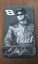 Dale Earnhardt Jr. #8 Budweiser NASCAR Black & White Refrigerator Magnet 2007