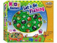 *NEW IN BOX* Lets Go Gone Fishing - No Reading Required - Age 3+