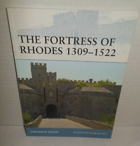 BOOK OSPREY FORTRESS #96 Fortress of Rhodes 1309-1522 op 2010 1st