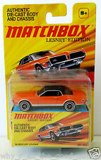 MATCHBOX Lesney Edition '68 MERCURY COUGAR Authentic Die-Cast Model Car R1285