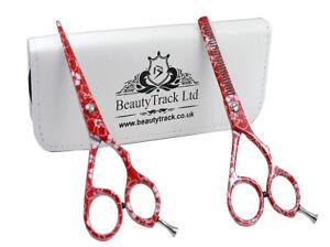 Salon Professional Hairdressing Scissors Barber Hair Cutting Thinning Shears Set