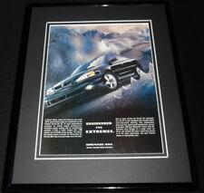 2001 Pontiac Grand Am GT Framed 11x14 ORIGINAL Vintage Advertisement
