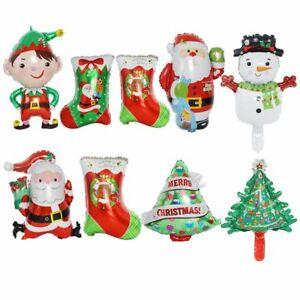 Inflatable Toys Christmas Balloons Aluminum Foil Ballons Santa Clause