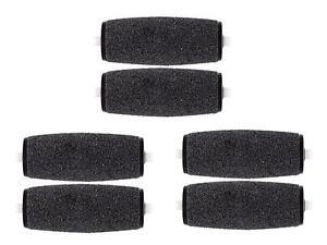 6-pcs Pedi Refill Rollers Compatible w/ Amope Pedi Perfect Pedicure Foot File