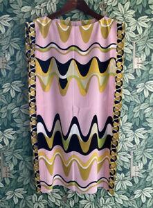 Emilio Pucci Silk Kaftan Tunic Commessa Dress - Size 38 UK10