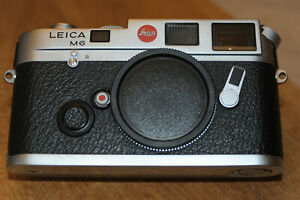 Leica M6 M 6  silber Gehäuse SNr.2175553 in TOP ZUSTAND