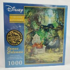"""NEW Puzzle Disney Artist James Coleman """"I Wanna Be Like You"""" Jungle Book 1000 Pc"""