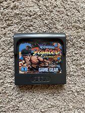 Sega Game Gear Virtua Fighter Animation Cart Only-Super Zustand PAL