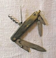 couteau de poche canif multifonctions 1950s French Pocket Knife multi tools