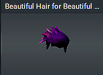 🔥 Rare Roblox Limited Beautiful Hair for Beautiful Space People Clean Limited🔥