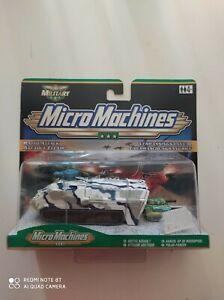 Micro Machines Rapid Attack Arctic Assault Hasbro 2000 NOC
