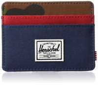 Herschel Supply Company Charlie RFID Blocking Card Holder Wallet