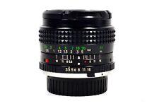 Minolta 28mm f/3.5 MC/MD Rokkor-X Lens