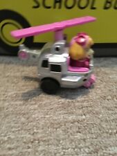 Skye from Paw Patrol character inside vehicle