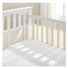 BreathableBaby Crib Mesh Liner w/ Full Wrap-Around Design Ecru Free Shipping