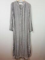 [ ONE SEASON ] Womens Maxi Oversized Shirt Dress  |  M or AU 12 / US 8