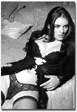 """Elizabeth Hurley Sexy Black and White Refrigerator Magnets Size 2.5"""" x 3.5"""""""