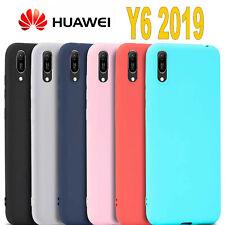Cover Huawei Y6 2019 L' ORIGINALE Silicone CUSTODIA Qualità PREMIUM