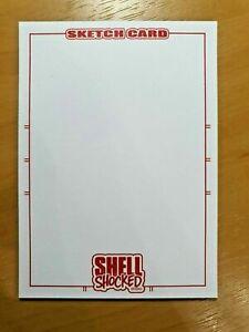 Sketch Card Bust Commission 1/1 Original Hand Drawn Art Sketch Trading Card