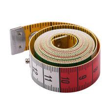 1.5m Dual Tailor Measure Tape Body Measuring Ruler Tape Seamstress Sewing Aids