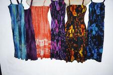 Handmade Tie Dye Regular Size Dresses for Women