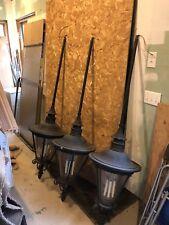 Exterior Bronze Hanging Lamps 3 Each Lighting Fixtures