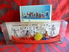 Billy - Soldats PLASTY genre TIMPO - Canoë et  indiens en boîte ref 4772