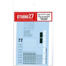 Studio 27 Chrome Decal A Gold ST27-FP0009 modellismo