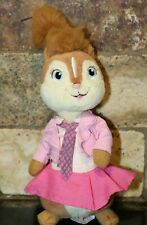 "TY Alvin and the Chipmunks 8"" Brittany Chipette Beanie Baby Plush Stuffed Animal"