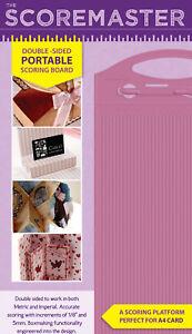 Crafters Companion - SCORE MASTER BOARD - A4 Crafter's Scoremaster Scoring Board