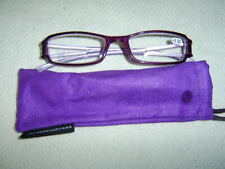 """Sight Station""""Cameo""""By Foster Grant Womens Fashion Reading Glasses&Case"""