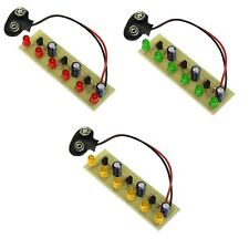 KitsUSA K-6825/K-6826/K-6827 SUPER LED CHASER KITS - RED and GREEN and YELLOW