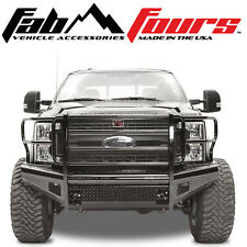 Fab Fours Ranch Black Steel Front Bumper 2017-2019 Ford SuperDuty F-250 F-350